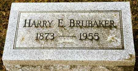BRUBAKER, HARRY E - Richland County, Ohio | HARRY E BRUBAKER - Ohio Gravestone Photos