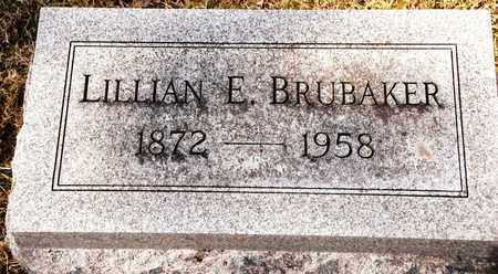 BRUBAKER, LILLIAN E - Richland County, Ohio | LILLIAN E BRUBAKER - Ohio Gravestone Photos