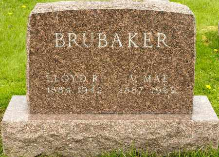 BRUBAKER, LLOYD R - Richland County, Ohio | LLOYD R BRUBAKER - Ohio Gravestone Photos