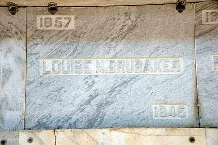 BRUBAKER, LOUISE M - Richland County, Ohio | LOUISE M BRUBAKER - Ohio Gravestone Photos