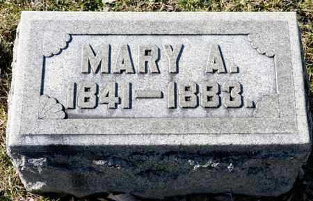 BRUBAKER, MARY A - Richland County, Ohio | MARY A BRUBAKER - Ohio Gravestone Photos