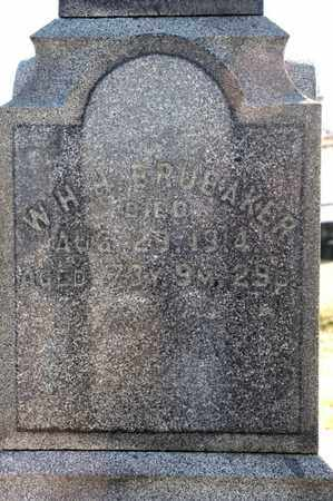 BRUBAKER, W H H - Richland County, Ohio | W H H BRUBAKER - Ohio Gravestone Photos