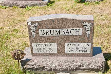 BRUMBACH, MARY HELEN - Richland County, Ohio | MARY HELEN BRUMBACH - Ohio Gravestone Photos