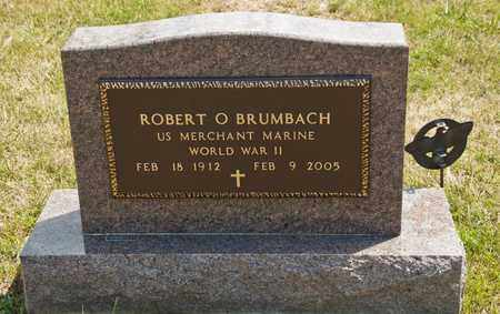 BRUMBACH, ROBERT O - Richland County, Ohio | ROBERT O BRUMBACH - Ohio Gravestone Photos