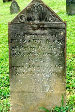 BUCHER, ELIZABETH - Richland County, Ohio | ELIZABETH BUCHER - Ohio Gravestone Photos