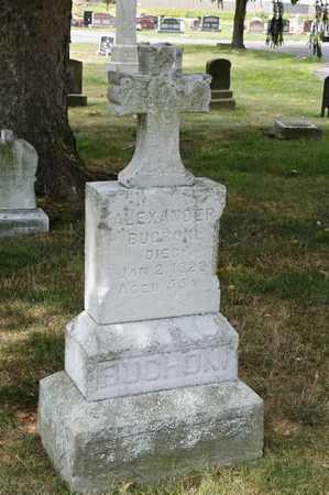 BUCHONI, ALEXANDER - Richland County, Ohio | ALEXANDER BUCHONI - Ohio Gravestone Photos