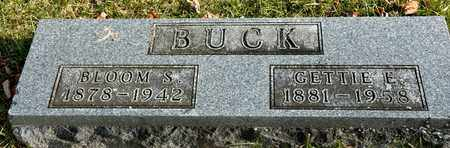 BUCK, BLOOM S - Richland County, Ohio | BLOOM S BUCK - Ohio Gravestone Photos