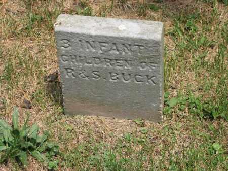 BUCK, INFANT - Richland County, Ohio | INFANT BUCK - Ohio Gravestone Photos