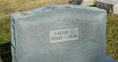 BUCK, SARAH G - Richland County, Ohio | SARAH G BUCK - Ohio Gravestone Photos
