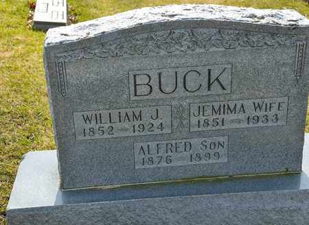 BUCK, ALFRED - Richland County, Ohio | ALFRED BUCK - Ohio Gravestone Photos