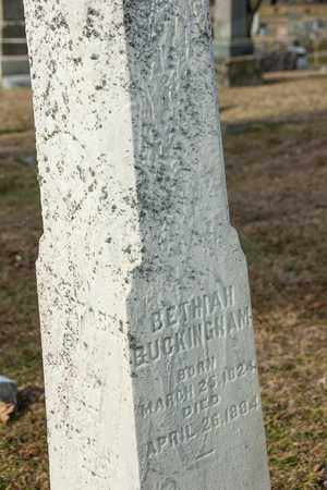 BUCKINGHAM, BETHIAH - Richland County, Ohio | BETHIAH BUCKINGHAM - Ohio Gravestone Photos