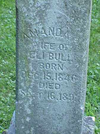 BULL, AMANDA - Richland County, Ohio | AMANDA BULL - Ohio Gravestone Photos