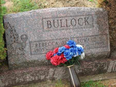 BULLOCK, REBECCA J. - Richland County, Ohio | REBECCA J. BULLOCK - Ohio Gravestone Photos