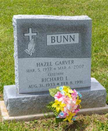 BUNN, RICHARD L - Richland County, Ohio | RICHARD L BUNN - Ohio Gravestone Photos