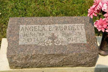 BURDETT, ANGELA E - Richland County, Ohio | ANGELA E BURDETT - Ohio Gravestone Photos