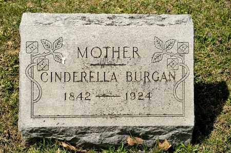 BURGAN, CINDERELLA - Richland County, Ohio | CINDERELLA BURGAN - Ohio Gravestone Photos