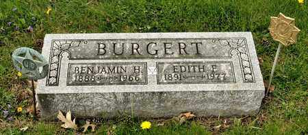 BURGERT, EDITH F - Richland County, Ohio | EDITH F BURGERT - Ohio Gravestone Photos