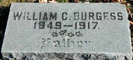 BURGESS, WILLIAM C - Richland County, Ohio | WILLIAM C BURGESS - Ohio Gravestone Photos