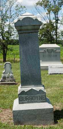 BURGOYNE, GEORGE - Richland County, Ohio | GEORGE BURGOYNE - Ohio Gravestone Photos