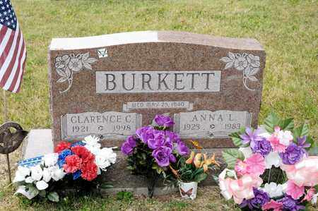 BURKETT, CLARENCE C - Richland County, Ohio | CLARENCE C BURKETT - Ohio Gravestone Photos