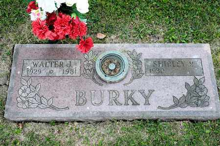 BURKY, WALTER J - Richland County, Ohio | WALTER J BURKY - Ohio Gravestone Photos