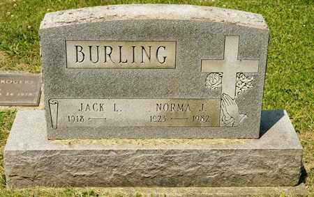 BURLING, NORMA J - Richland County, Ohio | NORMA J BURLING - Ohio Gravestone Photos