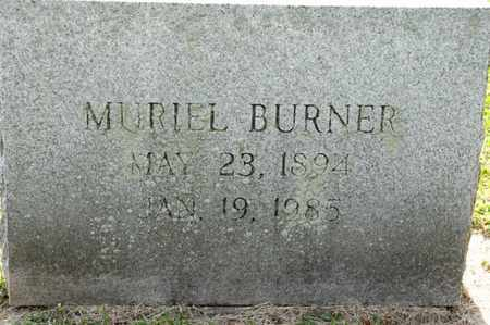 BURNER, MURIEL - Richland County, Ohio | MURIEL BURNER - Ohio Gravestone Photos