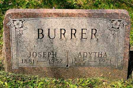BURRER, JOSEPH - Richland County, Ohio | JOSEPH BURRER - Ohio Gravestone Photos