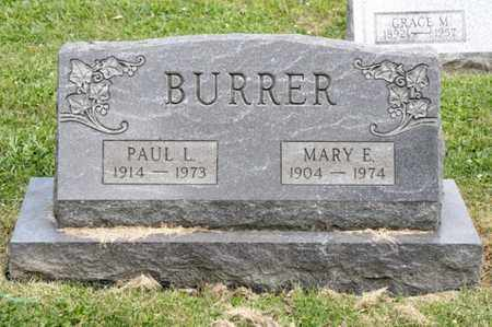 BURRER, PAUL L - Richland County, Ohio | PAUL L BURRER - Ohio Gravestone Photos