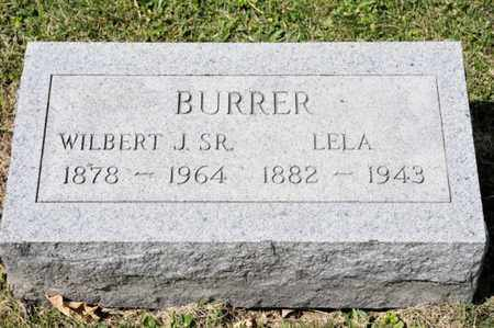BURRER, LELA - Richland County, Ohio | LELA BURRER - Ohio Gravestone Photos