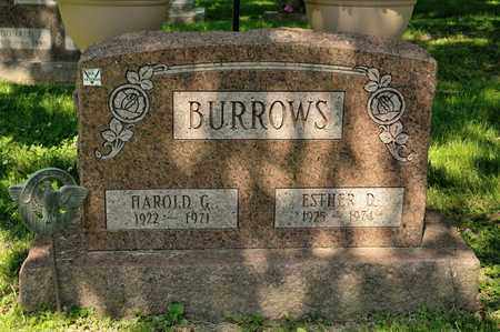 BURROWS, HAROLD G - Richland County, Ohio | HAROLD G BURROWS - Ohio Gravestone Photos