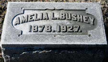 BUSHEY, AMELIA L - Richland County, Ohio | AMELIA L BUSHEY - Ohio Gravestone Photos