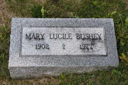 BUSHEY, MARY LUCILE - Richland County, Ohio | MARY LUCILE BUSHEY - Ohio Gravestone Photos