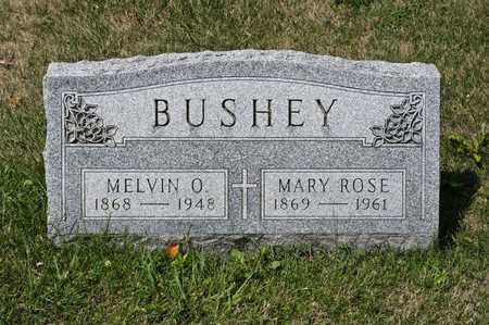 BUSHEY, MELVIN O - Richland County, Ohio | MELVIN O BUSHEY - Ohio Gravestone Photos