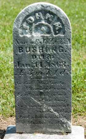 BUSHONG, JOHN M - Richland County, Ohio | JOHN M BUSHONG - Ohio Gravestone Photos