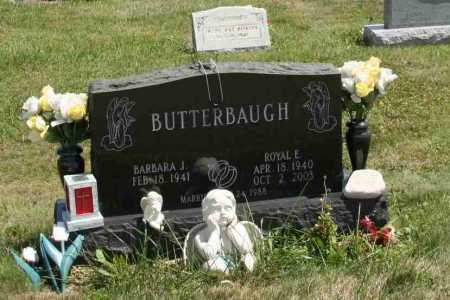 BUTTERBAUGH, BARBARA J - Richland County, Ohio | BARBARA J BUTTERBAUGH - Ohio Gravestone Photos