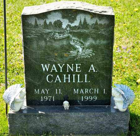 CAHILL, WAYNE A - Richland County, Ohio | WAYNE A CAHILL - Ohio Gravestone Photos
