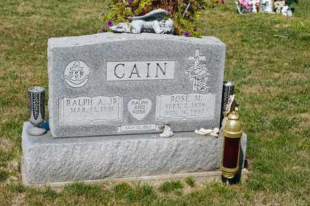 CAIN, ROSE M - Richland County, Ohio | ROSE M CAIN - Ohio Gravestone Photos