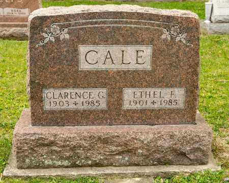 CALE, ETHEL F - Richland County, Ohio | ETHEL F CALE - Ohio Gravestone Photos