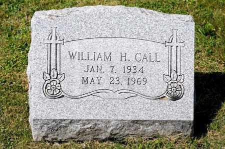 CALL, WILLIAM H - Richland County, Ohio | WILLIAM H CALL - Ohio Gravestone Photos
