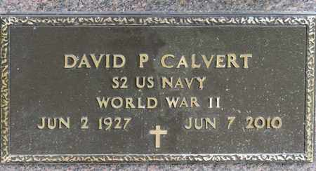 CALVERT, DAVID P - Richland County, Ohio | DAVID P CALVERT - Ohio Gravestone Photos