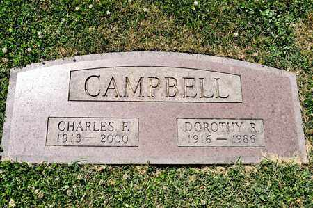 CAMPBELL, CHARLES F - Richland County, Ohio | CHARLES F CAMPBELL - Ohio Gravestone Photos