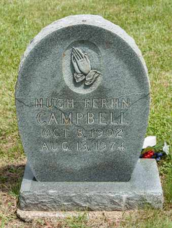 CAMPBELL, HUGH FERHN - Richland County, Ohio | HUGH FERHN CAMPBELL - Ohio Gravestone Photos
