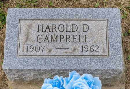 CAMPBELL, HAROLD D - Richland County, Ohio | HAROLD D CAMPBELL - Ohio Gravestone Photos