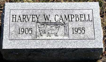 CAMPBELL, HARVEY W - Richland County, Ohio | HARVEY W CAMPBELL - Ohio Gravestone Photos