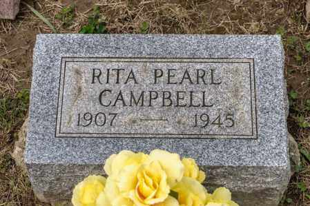 CAMPBELL, RITA PEARL - Richland County, Ohio | RITA PEARL CAMPBELL - Ohio Gravestone Photos