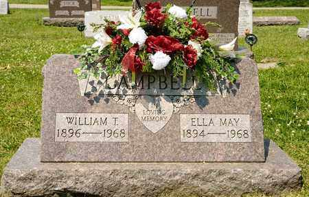 CAMPBELL, WILLIAM T - Richland County, Ohio | WILLIAM T CAMPBELL - Ohio Gravestone Photos