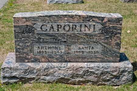 CAPORINI, ANTHONY - Richland County, Ohio | ANTHONY CAPORINI - Ohio Gravestone Photos