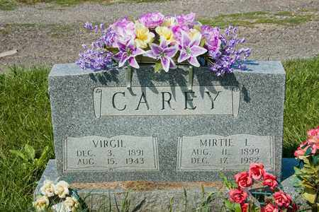 CAREY, VIRGIL - Richland County, Ohio | VIRGIL CAREY - Ohio Gravestone Photos