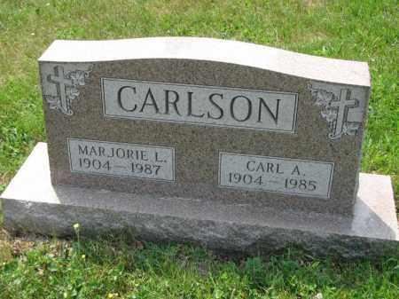 CARLSON, MARJORIE L. - Richland County, Ohio | MARJORIE L. CARLSON - Ohio Gravestone Photos